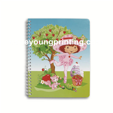 Spiral cartoon notebook corner rounding for student