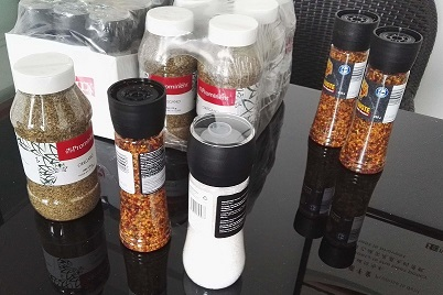 CAR JAR SPICE SALT SAMPLE