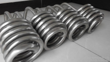 gr2 titanium winding path tubes for industral