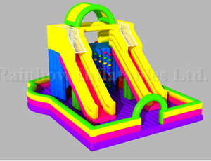RB8047(13x10x8m) Inflatable Climbing Game For Outdoor&Indoor Playground, Inflatable Climbing Sport Game, Inflatable Climbing Slide
