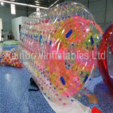 RB33010(2.1x2.7x2.1m) Inflatable red zorb roller for sales