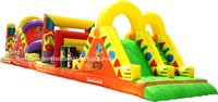 RB5014(12x6m) Inflatable Hot sale hign quality Long Obstacle Training Race