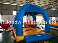 New Arrival Small Commercial Inflatable Floating Jumping Bouncer Water Game for Sale