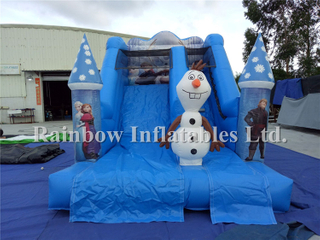 RB08007(5.4x3.5x4m) Inflatable Popular frozen slide for child
