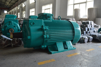 YZ single / double shaft crane motor