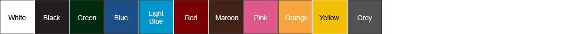 Standard PVC Colours
