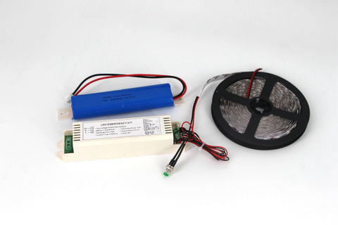 1.2 Meter 22W LED DC 12V linear lighting Emergency Kits