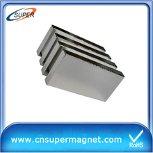 Sintered 50*50*10mm Neodymium Magnetic Block