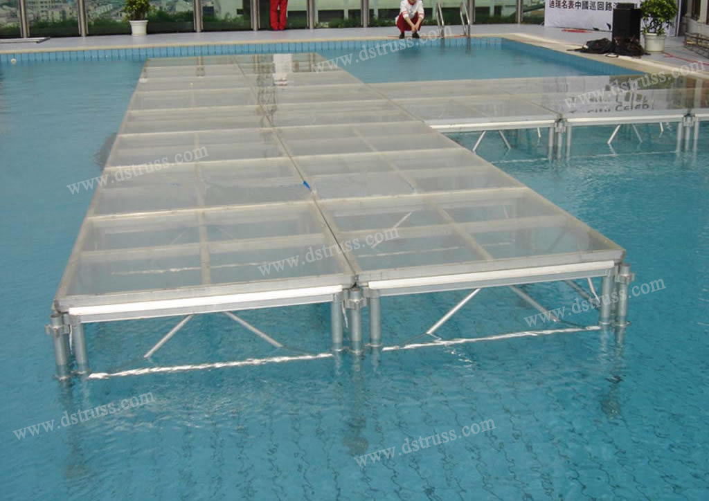 Aluminum Alloy Assembled Glass Stage