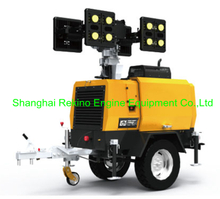 ALT6600A-GL Mobile light tower 5x400W for mining