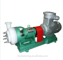 FSB anticorrosive fluorine plastic pump for sulfuric acid