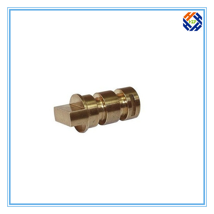 Brass CNC Machined Part for Machinery-4