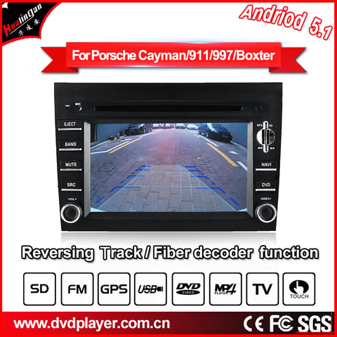 Android 5.1 Auto dvd For Prosche boxter/997 audionavigatior