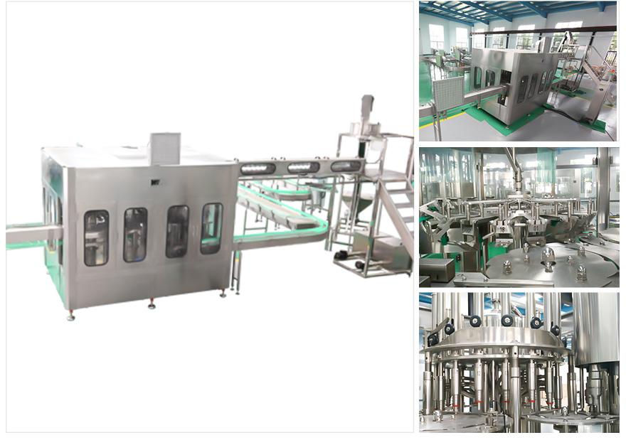 Washing Filling Capping Machine China