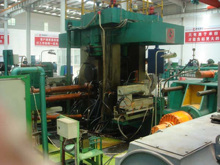 rolling machine for steel sheets