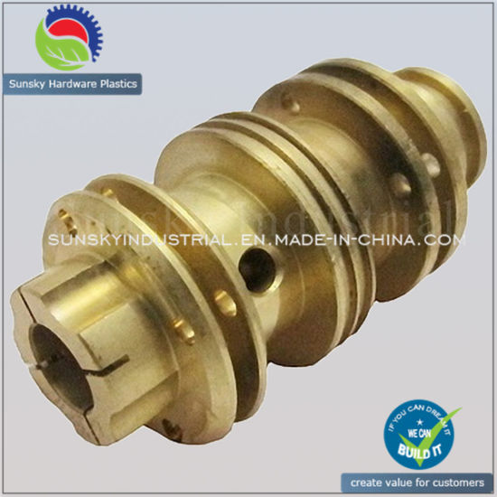 Custom Brass CNC Machining Part for CV Joint (BR17010)