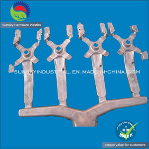 High Precision Aluminium Casting with Handle Bar Raw Finishing (DC26010)