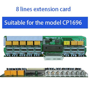 Excelltel PABX 8 lines extension card for CP1696