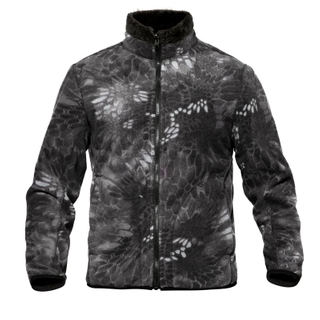 High Quality Army Reversible Fleece Jacket