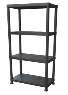 4 Tiers Plastic Storage Shelf (6030P-4T)