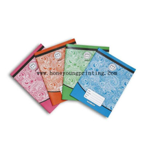 Soft cover 5x5mm square staple binding exercise book 212/24/48/96 feuilles with canlenda and multiplication table