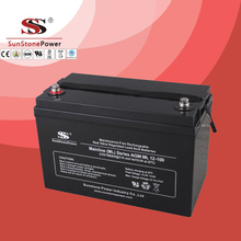 Deep Cycle Solar Battery 12v 100ah AGM lead acid battery GEL Battery Long Life