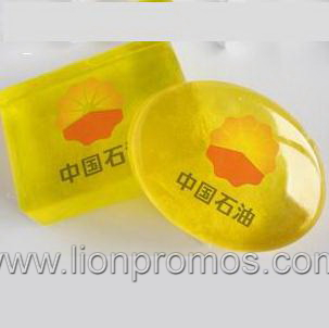 Logo Embossed Car Marketing Gift Hand Made Bathing Soap
