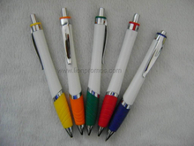 Custom Promotional Gift Ball Pen with Rubber Grip
