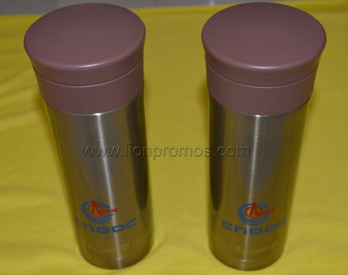 CNOOC Logo Original Thermos Stainless Steel Thermal Water Botle