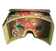 Christmas Gift Google cardboard VR Virtual Reality 3D Glasses for Smart Phone