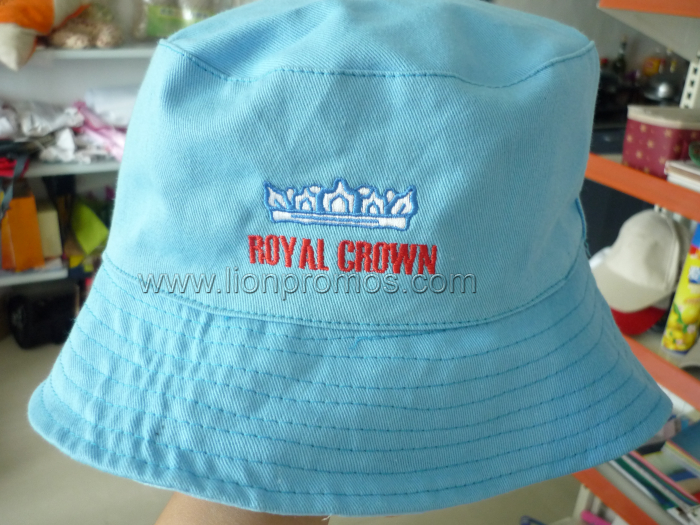 Cameroun Dairy Industry Royal Crown Logo Gift Cotton Bucket Hat