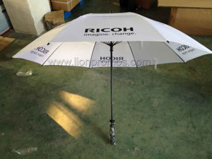 RICOH Promotional Gift Two Layers Windproof Golf Umbrella