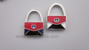 Elegant Design Lady Gift Zinc Alloy Bag Holder