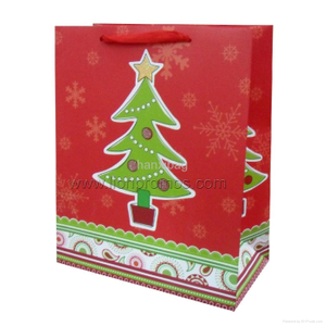 Christmas Promotional Gift Paper Shopping Bag