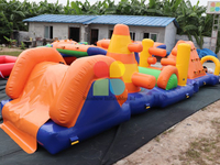 RB5210-1(8x2m)Inflatable Obstacle Course/ Multifunction Obstacle Course for sale