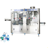 CGF8-8-3 Mineral Water Bottling Machine (2000-3000BPH)