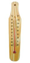 CF308-9 Wooden Thermometer
