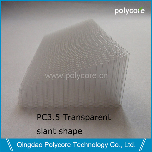 Air straightener PC3.5 slant shape