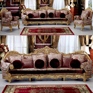 962 Wooden Sofa Set with Sofa Chair for Home Furniture