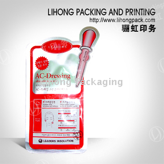Custom Effect Plastic Bag For Cosmetic Packaging