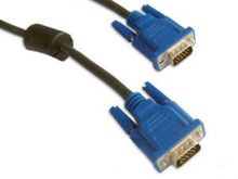 Computer or Desktop VGA Cable, Male to Male