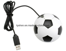 USB Mouse of Round Design Like Ball