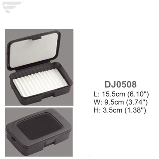 DJ0508 Plastic Storage Box Fly Tying Box