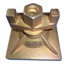 Casting Swivel Wing Nut /Square Plate Wing Nut 120*120mm