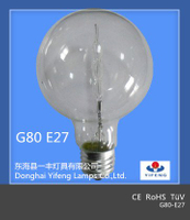 Eco Energy Saning G80 Halogen Bulb with CE / RoHS /TUV /GOST Approved