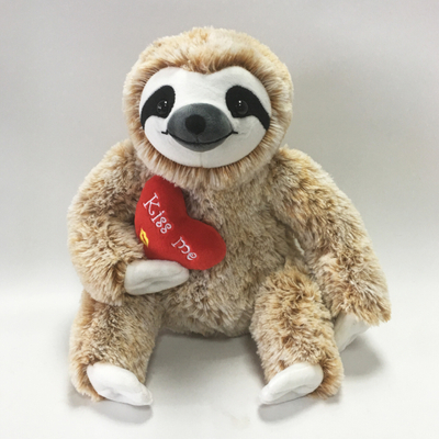 Valentines Gifts Plush Toy Three Toed Sloth for Kids