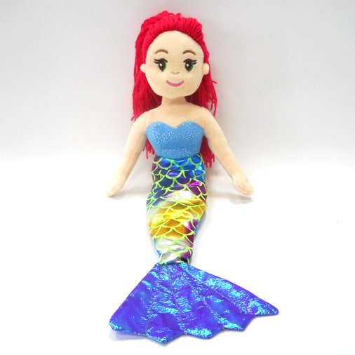 Lovely Plush Doll Dresses Mermaid Creative Gifts Mermaid Doll