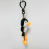 Custom Soft Plush Penguin Toy Keychain
