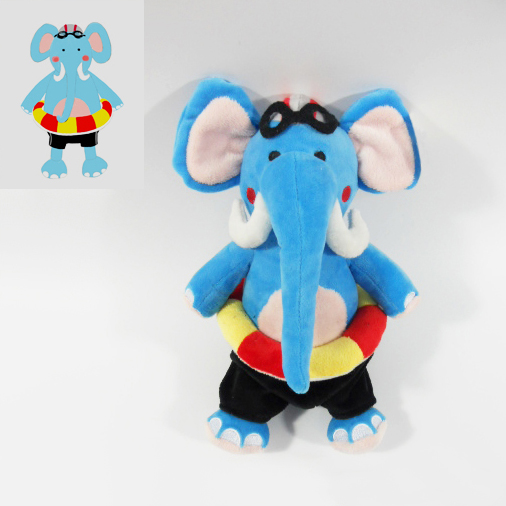 Custom Factory OEM Soft Plush Elephant Toy