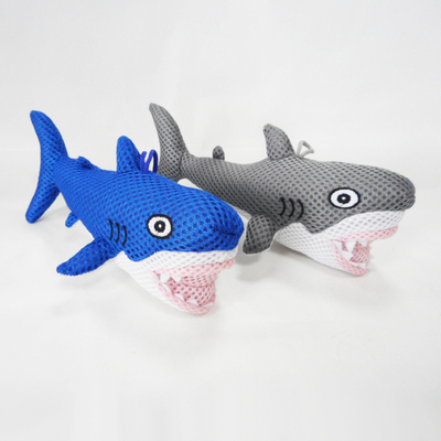 Newest Promotion Kids Lovely Funny Sandwich Fabric Shark Bath Toy